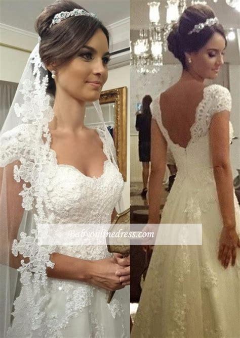 Hochzeitskleid Bestellen by G 252 Nstig A Linie Brautkleider Mit Spitze Tr 228 Ger