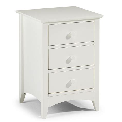 White Bedside Table Furniture The Drawer Nightstand Ivory White Bedside Cabis White Bedside Tables