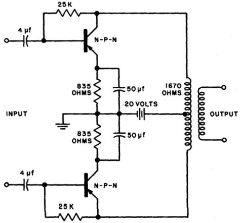 proper transistor lifier operation transistor basics push pull operation