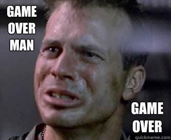 Game Over Meme - the gallery for gt game over man meme