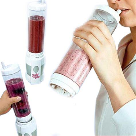 Shake N Take Portable shake n take blender buah portable juicer mini 400ml
