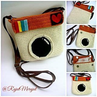 Bag Hello Rajut crochet instagram bag instagram purse tas rajut