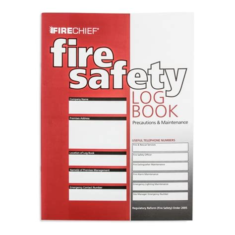 alarm log book template safety logbook