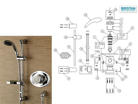 Mixer Merk National Omega bristan pisa recessed thermostatic mixer shower shower spares and parts national shower spares