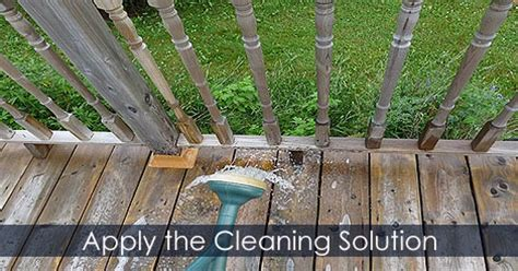 Solution To Clean Deck by Clean Deck Before Staining Tips For Cleaning Restoring A