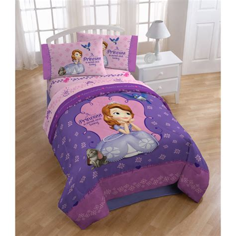 sofia the first comforter set sofia the first comforter walmart com