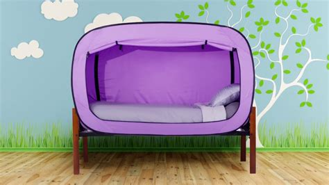 the bed tent privacy pop the bed tent for better sleep youtube