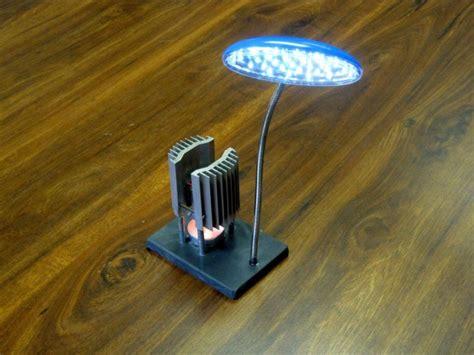 Plant Heat Lamp by Energy Harvesting Tea Light Power Plant Element14