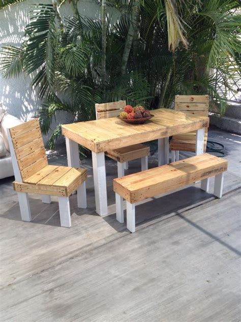 outdoor wood patio furniture patio furniture out of wood pallets chicpeastudio