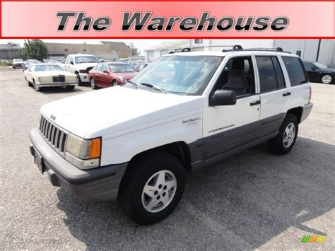 1995 white jeep grand laredo 4x4 53941245 gtcarlot car color galleries
