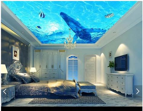 Wallpaper In Ceiling by Get Cheap Painting Suspended Ceiling Aliexpress Alibaba
