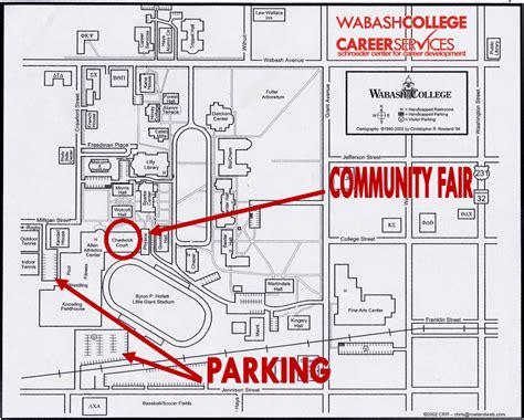 wabash college schroeder center for career development crawfordsville indiana