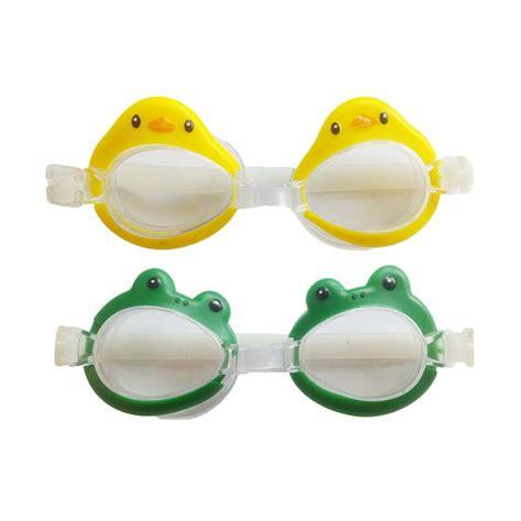 Mainan Kacamata Renang Anak jual aqua splash kodok dan bebek kacamata renang anak oti2404mm3 harga