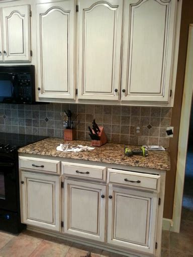 Can You Restain Kitchen Cabinets Learn To Paint A Cabinet With Glaze The Magic Brush