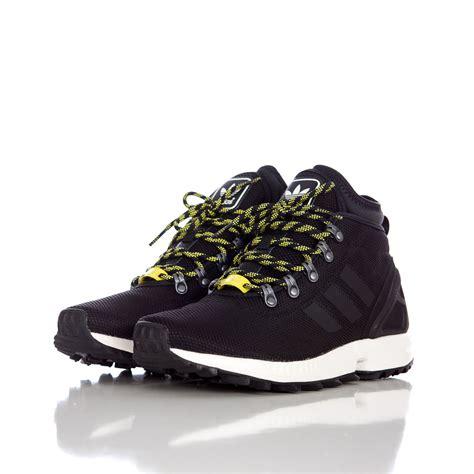 sepatu boot karrimor zx black adidas zx flux winter mesh boots in black for lyst