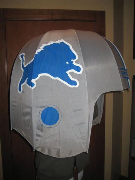 football helmet shaped chair vintage 80 s 90 s detroit lions nfl football helmet