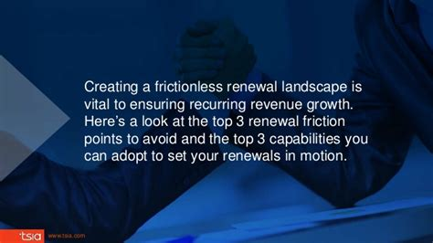 how to make your a service how to make your renewals frictionless