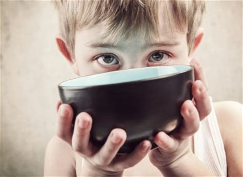 one in five irish children go to school or bed hungry