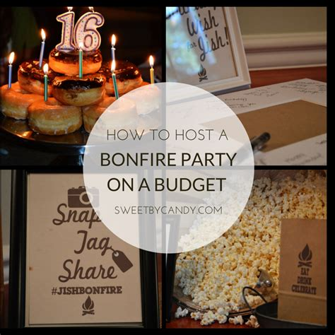 how to plan a backyard party how to have a bonfire party on a budget for teens