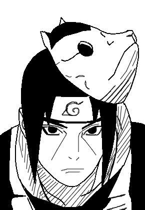 itachi uchiha anbu desenho de hazaaaard gartic