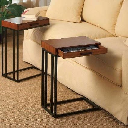 sofa slide table couch table slide under couch table