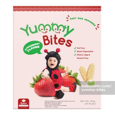 jual murah yummy bites baby rice cracker  gram