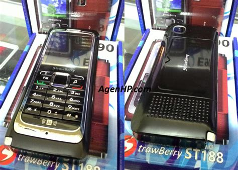handphone strawberry st188 dual sim mirip nokia e90 agen hp