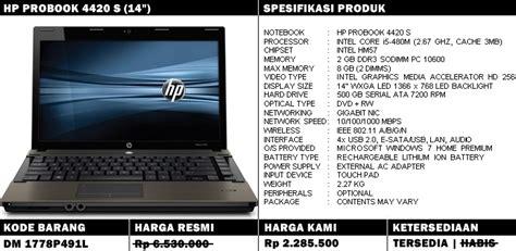 Kipas Laptop Probook 4420s hp probook 4420s