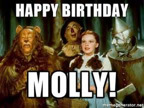 Wizard Of Oz Meme Generator - happy birthday molly dorothy wizard of oz meme generator