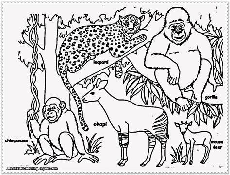 safari animals coloring pages preschool safari animals coloring pages getcoloringpages com