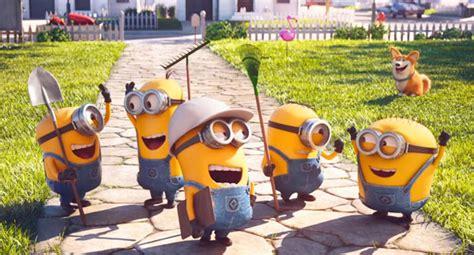 Mower Minions 2016 Film Ontvlambare Beelden Uit Mower Minions Animatieblog