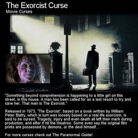 exorcist film curse exorcist move cursed many believe this movie should never