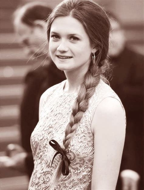 Bonnie Braid - bonnie wright the text and braids on