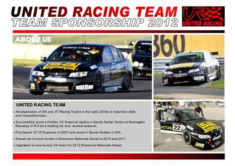 ur sponsorship proposal 2012