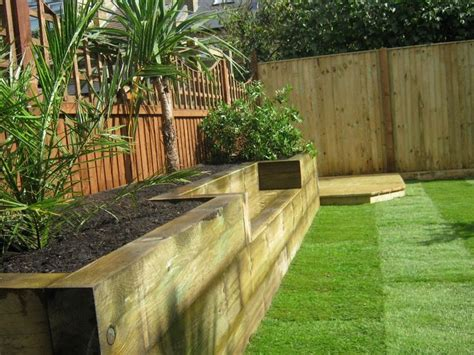 Sleepers Garden Ideas Garden Sleeper Bed Ideas Landscaping Gardening Ideas
