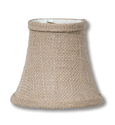 Burlap Chandelier Shade Almond Burlap Softback Bell Chandelier Shades 00681l B P L Supply