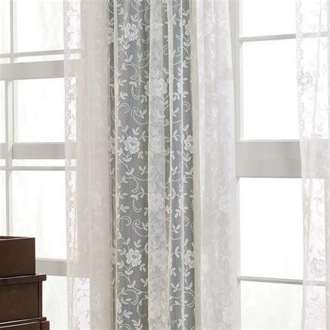 Shari Lace Curtains Pin By On Sugar And Spice Pinterest
