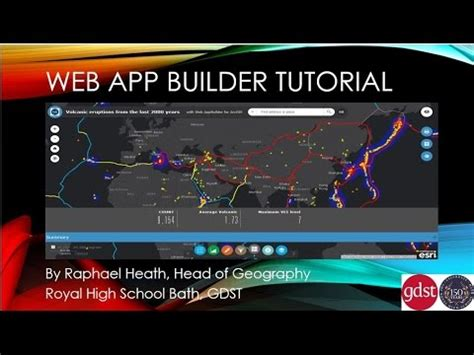Arcgis Webapp Builder Tutorial | web app builder tutorial for arcgis online youtube