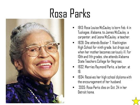 rosa parks biography for middle school effect on the civil rights movement ppt video online