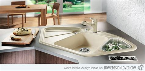 American Kitchen Ideas by 15 Cool Corner Kitchen Sink Designs Home Design Lover