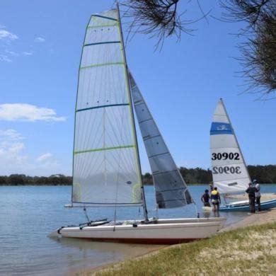 16 ft catamaran for sale australia hydra 16 foot catamaran new sails trailer vgc