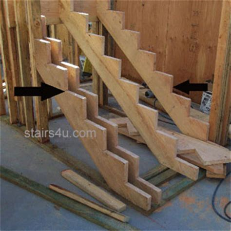 Stringers On Stairs by Stair Stringer Stairway Parts