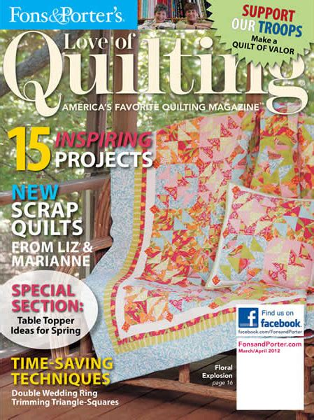 Digital Issue Of Quilting Marchapril 2005 of quilting march april 2012 the quilting company