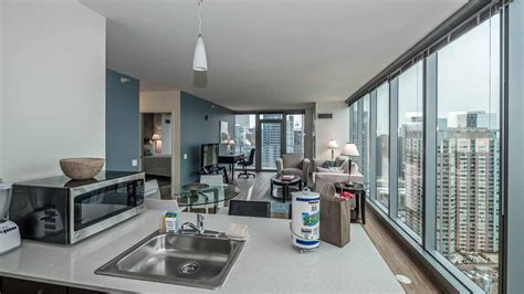chicago appartment furnished apartments at coast from suite home chicago