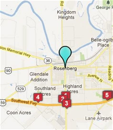 map of rosenberg texas rosenberg tx hotels motels see all discounts