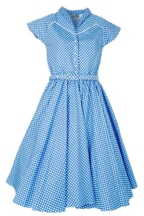 Dress Spot Blue shop blue picnic spot dress by lawrie at fix