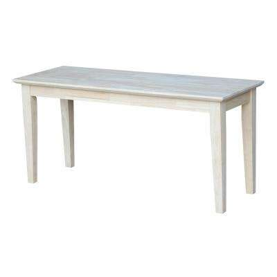 unfinished furniture bench unfinished wood entryway furniture furniture the