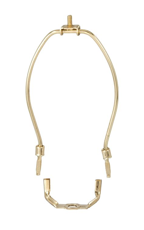 4 Inch L Harp by Heavy Weight Brass Plated L Harps 12740 B P L Supply