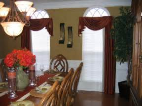 Dining Room Valance by Dining Room Drapes