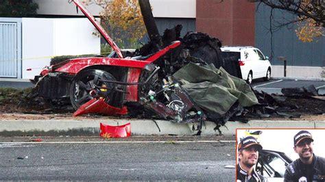 porsche blames driver in fatal paul walker car crash ny paul walker death porsche lawsuit roger rodas widow